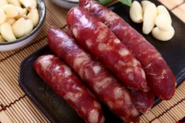 《123幸福美食》黑豬肉高粱香腸【300g】【生鮮商品】
