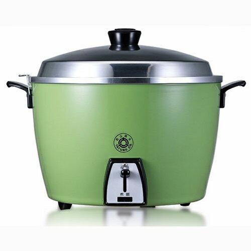 【大同】10人份(不鏽鋼內鍋)電鍋 TAC-10L-SG (綠)