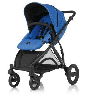 Britax - B-DUAL 雙人雙向手推車 (藍) 加購Britax - Baby-Safe提籃享特價優惠!
