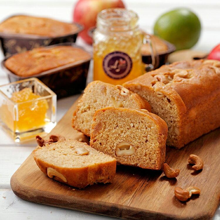 蘋果腰果磅蛋糕-腰您蘋安富桂(120g或500g/條) 0