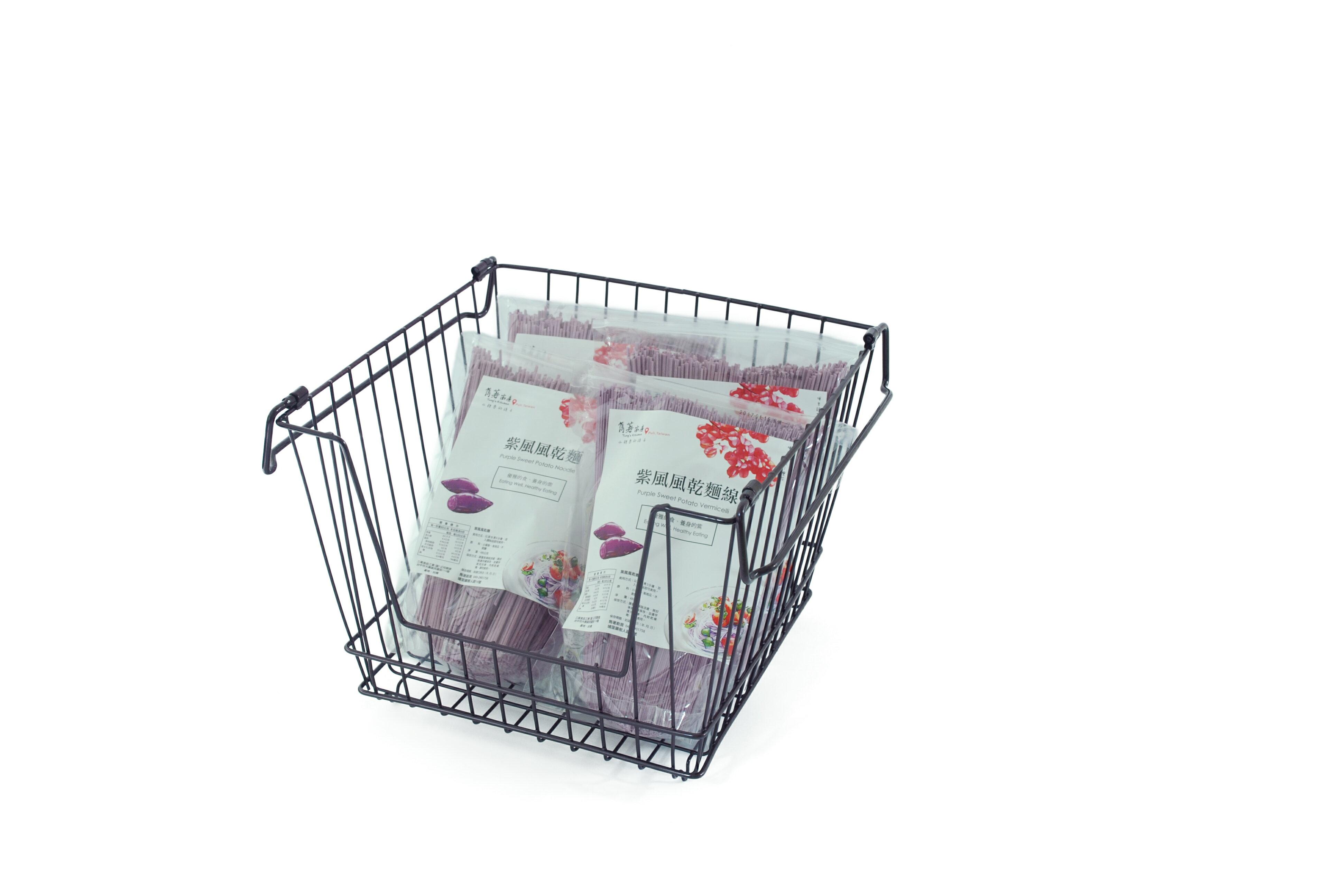 【凱樂絲】媽咪好幫手堆疊收納籃  一組三入促銷價899 - 自由DIY 空間利用 透氣通風, 客廳, 廚房, 衣櫃適用 3