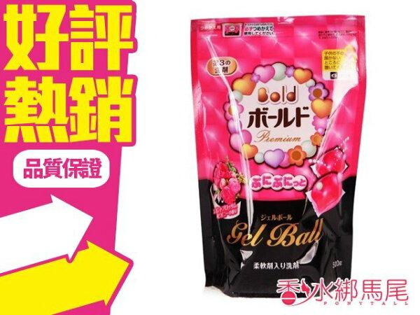 ◐香水綁馬尾◐日本 寶僑 P&G 雙倍潔衣凝膠球 花香 袋裝 (500g/20顆入)