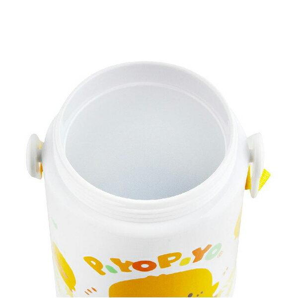 『121婦嬰用品館』黃色小鴨 彈跳保溫保冷水壺 375ml 3