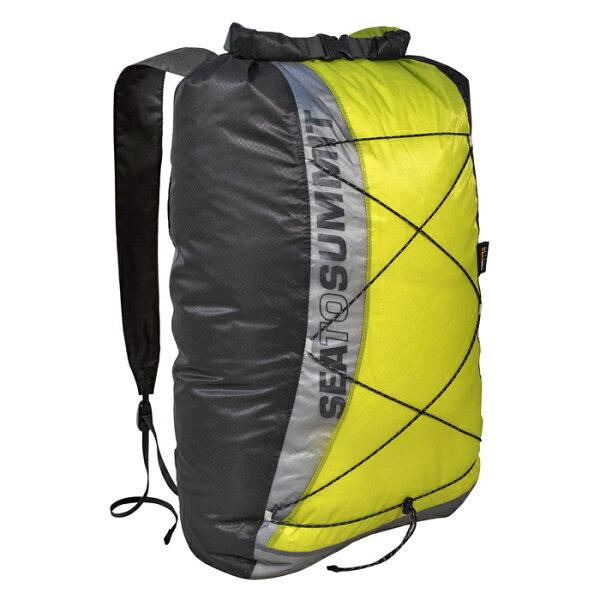 【鄉野情戶外專業】Sea To Summit |澳洲| Ultra-Sil Waterproof 輕量防水日用背包/防水背包 輕量背包 旅行背包-綠/AUSWDP