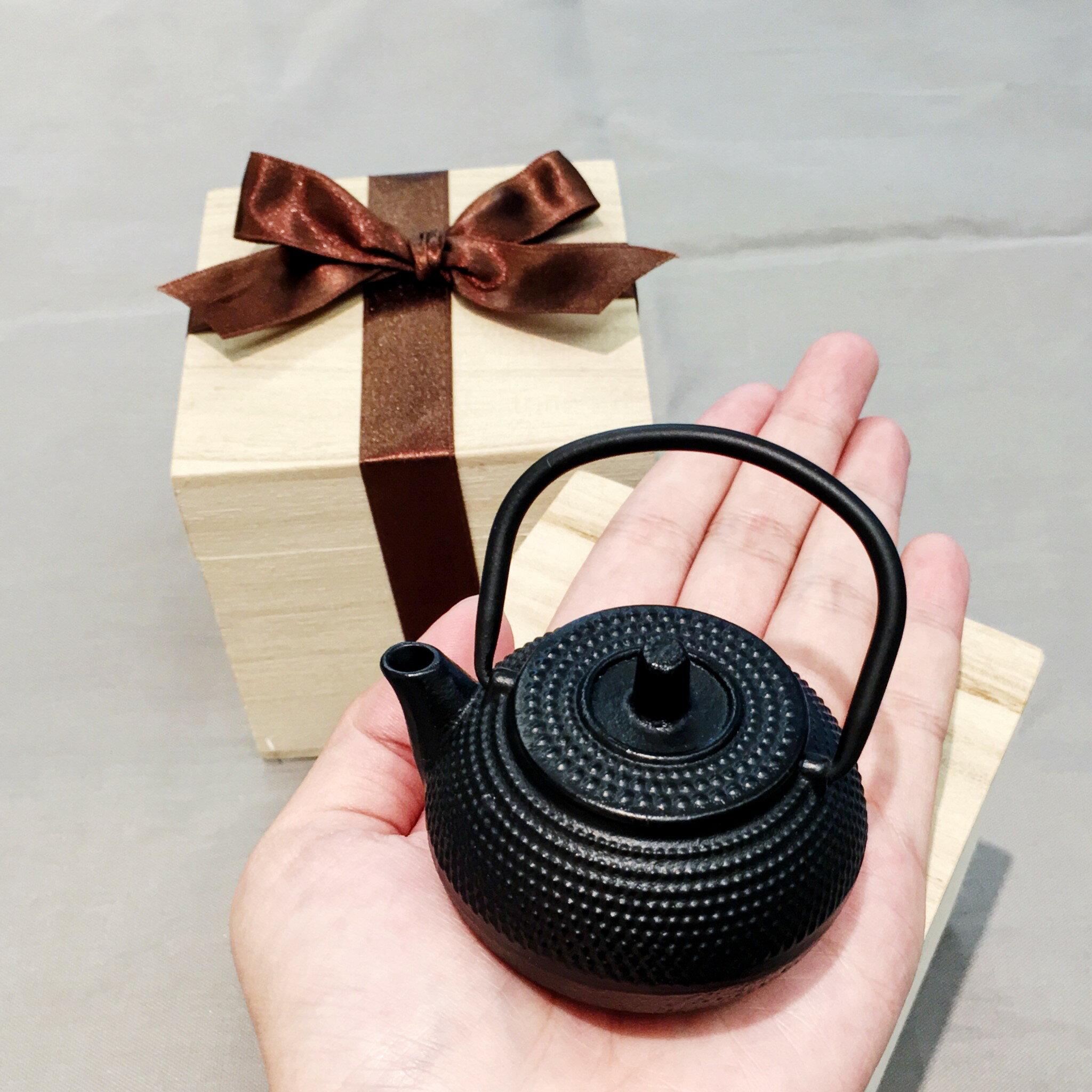 迷你鑄鐵壺 小茶寵 2