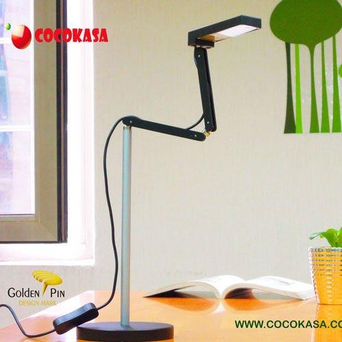 *╯新風尚潮流╭* COCOKASA 小竹 防眩光 護眼 LED 檯燈 桌燈 優雅黑 DS01-BL06-CW