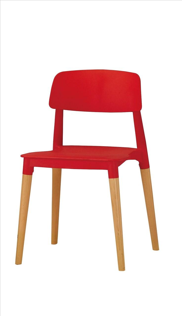 【石川家居】CM-492-7 奧斯本造型椅(紅)─單只 (不含其他商品) 台中以北搭配車趟免運