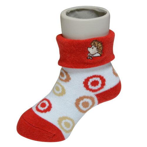 『121婦嬰用品館』狐狸村 威利繡花短筒襪 (9-11cm) 0