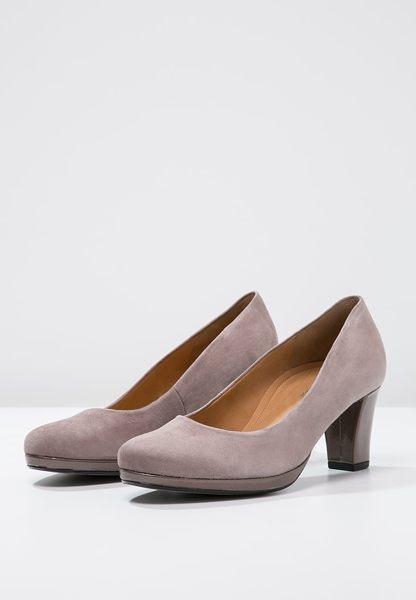 Gabor 麂皮素面優雅跟鞋 2