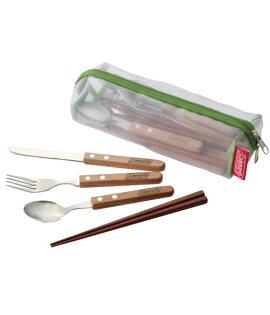 【露營趣】中和 美國 Coleman 食器組 四人份餐具組 筷子 叉子 湯匙 刀叉 露營 野餐 CM-5599