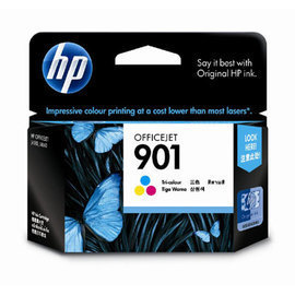 HP CC656AA NO.901 彩色原廠墨水匣