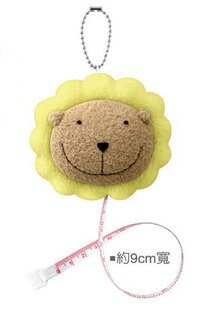 奶油獅 MS002絨毛捲尺