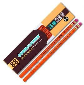 雄獅 88 高級六角桿皮頭鉛筆HB (12支/打)