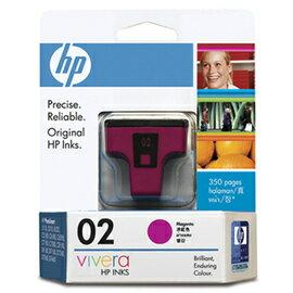 HP C8772WA NO.02 洋紅色原廠墨水匣
