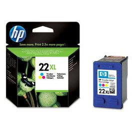 HP C9352CA NO.22XL 高容量 彩色原廠墨水匣