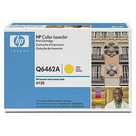 HP Q6462A 黃色原廠碳粉匣