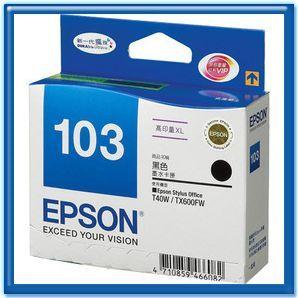 EPSON T103150 NO.103 原廠黑色高容量XL墨水匣