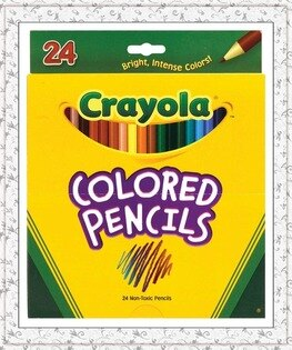 Crayola 68-4024彩色鉛筆24色
