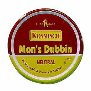 法國KOSMISCH MON'S Dubbin 人牌皮革保養油 皮衣 皮鞋 老牌