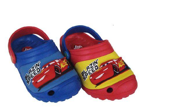 正版Disney 迪士尼立體 閃電麥坤CARS懶人鞋布希鞋童鞋(創信)