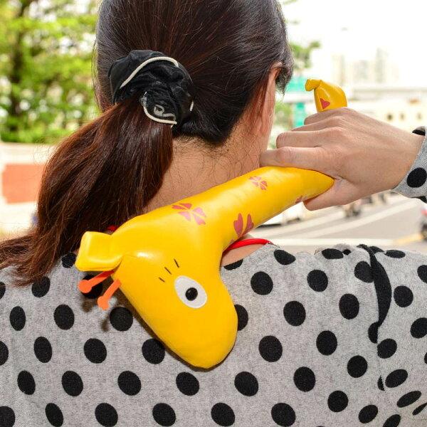 肩膀按摩搥棒 長頸鹿 日本帶回 同歩流行