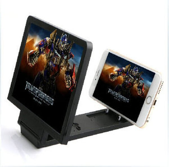 防輻射 3D手機屏幕放大器 手機支架折疊護眼神器 高清屏幕視頻放大鏡【預購】