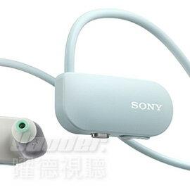 【曜德】SONY SSE-BTR1 藍色 智慧型隨身教練 藍芽免持通話 16GB ★免運★送收納盒+耳塞★