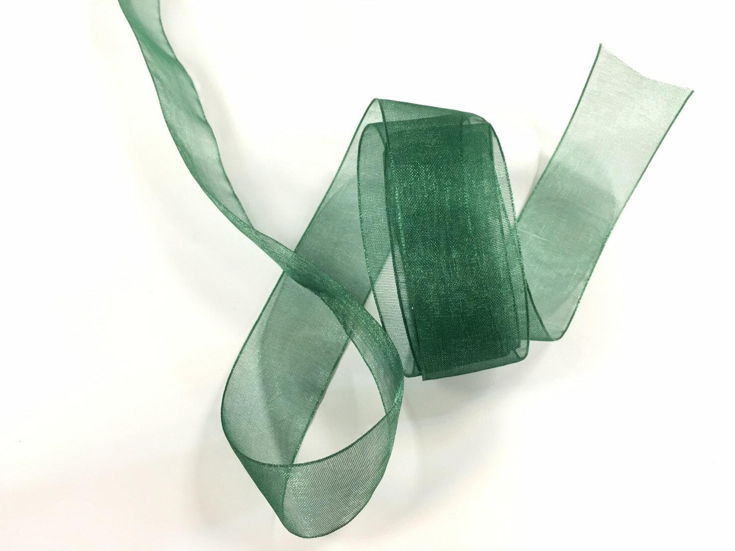 【Crystal Rose緞帶專賣店】光澤網紗緞帶 3碼裝 (10色) 7
