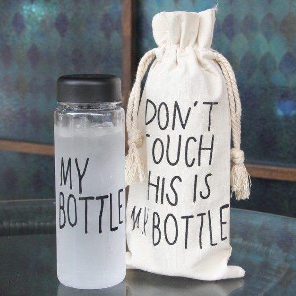 韓國my bottle 造型隨手杯 含袋子 盒子 隨行杯 水壺 水瓶 檸檬杯 冷水壺 飲料杯【庫奇小舖】禮盒裝