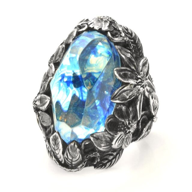 【海外訂購】【LYLY ERLANDSSON】the WINTER 極寒冰雪純銀戒指 - 冰晶藍(L-02-001) 1