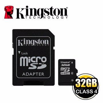 *╯新風尚潮流╭*金士頓記憶卡 32G 32GB Micro SDHC Class 4 C4 SDC4/32GB