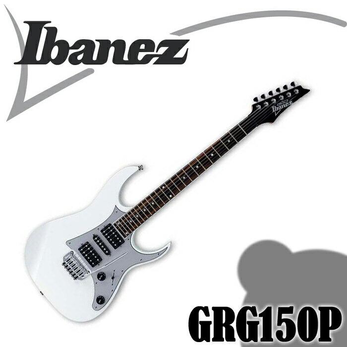 【非凡樂器】北極白 白色 Ibanez GRG150P 小搖座電吉他/全配件贈送【進階首選】