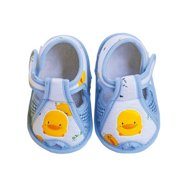 『121婦嬰用品館』黃色小鴨 格狀學步鞋 2