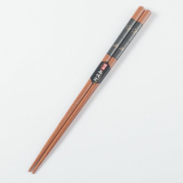 (男用)特選日本製若狹塗+mju-func®妙屋房加工高級抗菌天然木筷K-M
