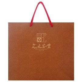 加購【名池茶業】茶葉禮盒手提袋(褐色款)