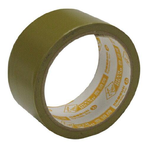 量大超划算【鹿頭 膠帶】PVS1N PVC 48mm×12M(黃軸)封箱膠帶 (6卷入)