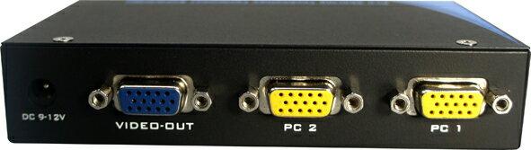 AviewS-2 PORT 電腦螢幕切換器/PSTEK VS-102E 1