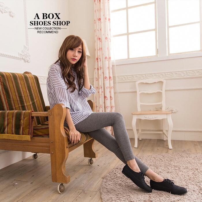 格子舖*【KPW9908】MIT台灣製 學院風復古英倫雕花 質感麂皮繫帶牛津鞋 平底包鞋 2色 1