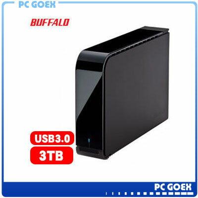 ☆軒揚pcgoex☆ BUFFALO 巴比祿 3.5吋 3TB (7200轉) 外接硬碟 HD-LXU3
