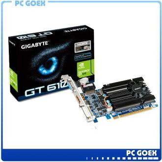 技嘉 GV-N610D3-1GI  顯示卡 NVIDIA GeForce GT 610 繪圖晶片 ☆pcgoex 軒揚☆