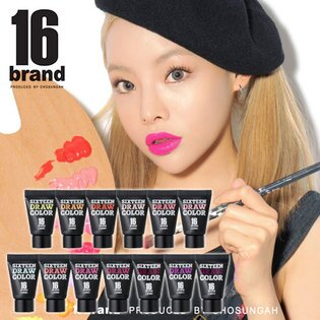 韓國 16 brand 調色盤彩妝蜜 8g 腮紅蜜 唇蜜 腮紅 唇彩 眼影蜜 眼影【B061979】