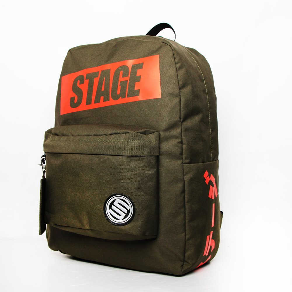 STAGE  JAPANESE BACKPACK  黑色/桃色/軍綠   三色