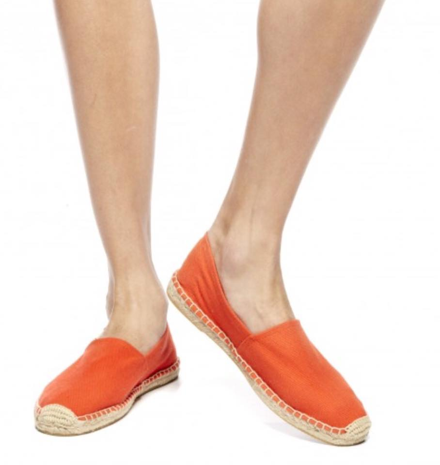 【Soludos】美國經典草編鞋-基本款草編鞋-橘 6