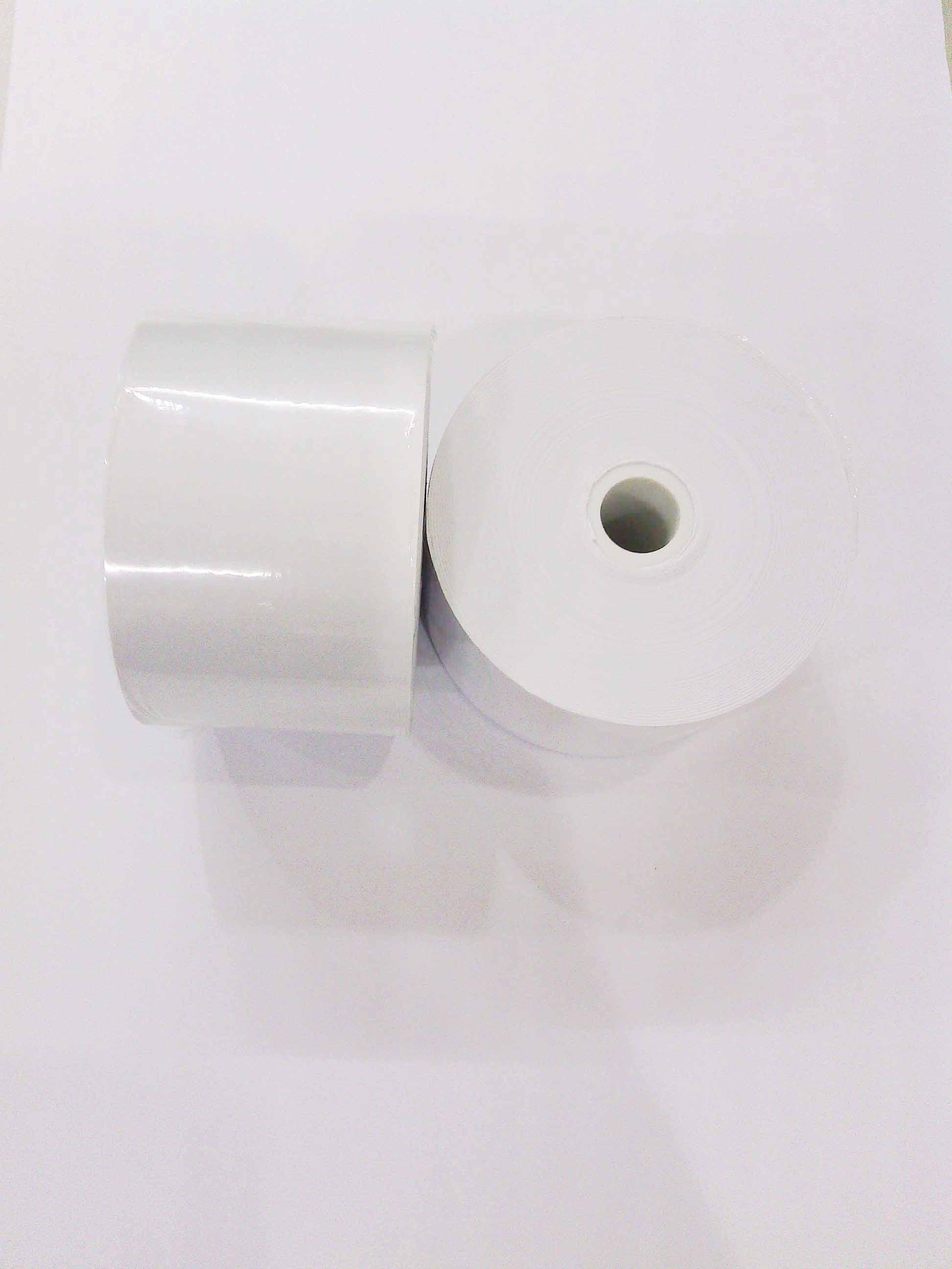 57*60*12mm (200卷)收銀收據機結帳空白紙捲 0