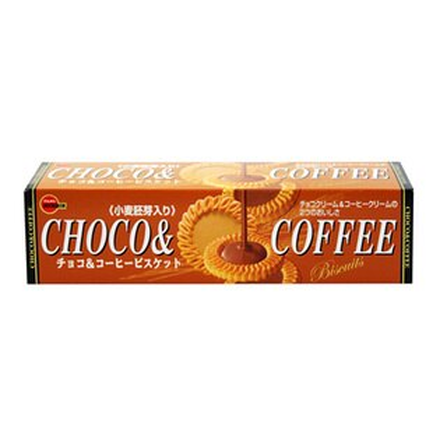 Bourbon北日本巧克力&咖啡餅乾 (108g)