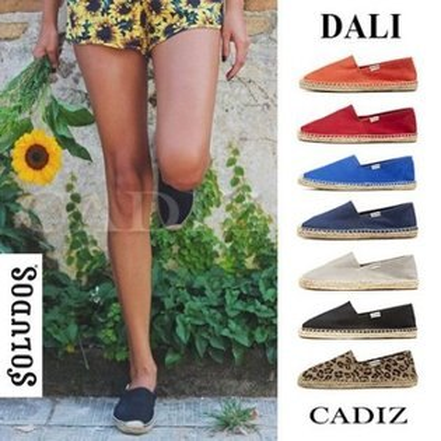 【Cadiz】美國真品正品 SOLUDOS 經典多色男女草編休閒鞋 [DALI/ 代購/ 現貨]