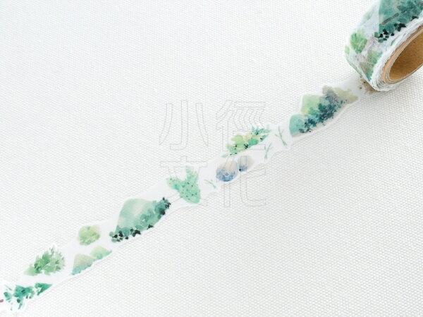 *小徑文化* | 台灣原創紙膠帶 | 黑夢蝶 - 植林 ( 403 ),RT承製,台灣限定販售