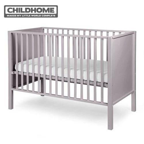 【安琪兒】比利時【Childhome】美學家時尚款嬰兒床-雅典灰【贈床墊+床包】 - 限時優惠好康折扣
