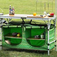 新手露營用品推薦到【露營趣】中和 送購物袋 SWISS MILITARY 輕便型行動廚房專用櫥櫃(不含桌面喔)K4T3B005