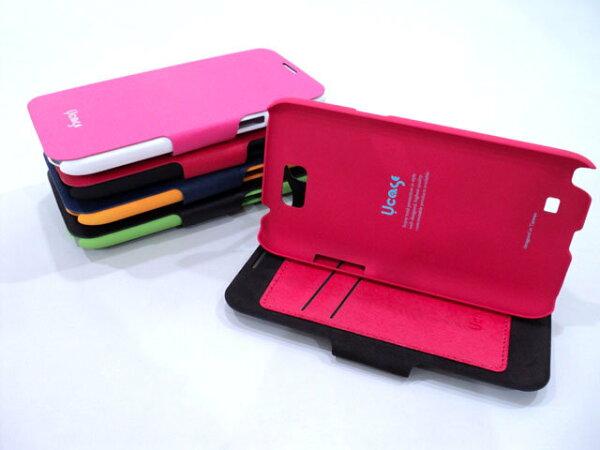 HTC Butterfly S 910E 蝴蝶S X901E X901 手機皮套/背蓋式皮套/雙色保護套/支架/觀賞架 §U case